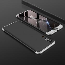 Coque 360 Huawei P20 Noir et Gris