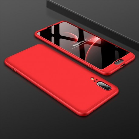 Coque 360 Huawei P20 Rouge