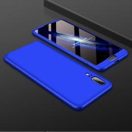 Coque 360 Huawei P20 Bleu