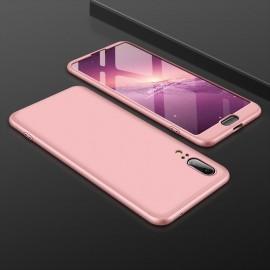 Coque 360 Huawei P20 Rose