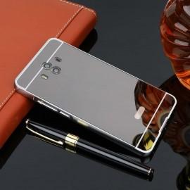 Bumper Huawei Mate 10 Aluminium Mirroir Gris Antracite