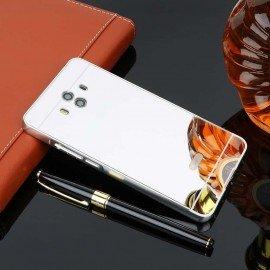 Bumper Huawei Mate 10 Aluminium Mirroir Gris Argent