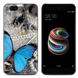 Coque Silicone Xiaomi MI A1 Papillon