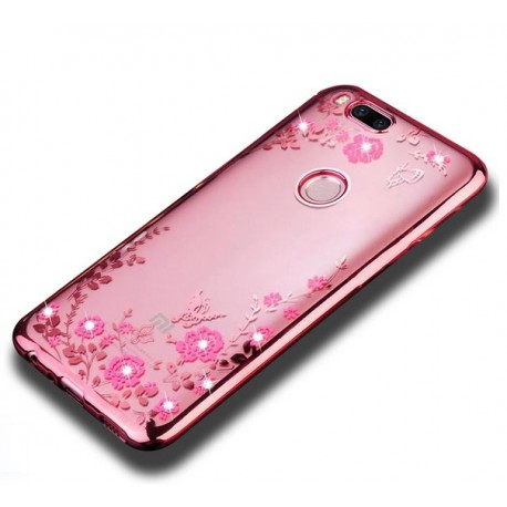 Coque Silicone Xiaomi MI A1 Fashion Fashion Rose