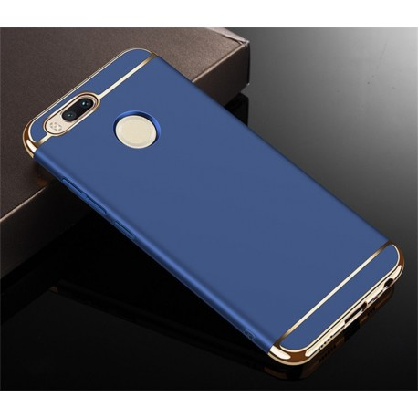 Coque Xiaomi MI A1 Rigide Chromée Bleu