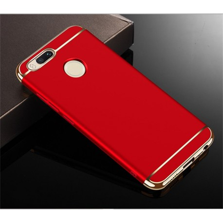 Coque Xiaomi MI A1 Rigide Chromée Rouge
