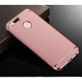 Coque Xiaomi MI A1 Rigide Chromée Rose