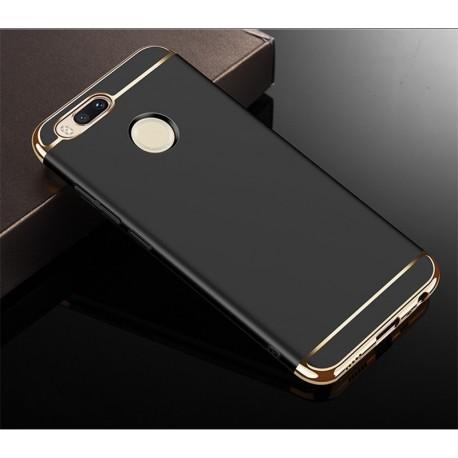 Coque Xiaomi MI A1 Rigide Chromée Noir