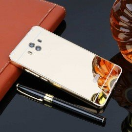 Bumper Huawei Mate 10 Aluminium Mirroir Or