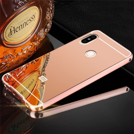 Bumper Xiaomi Redmi Note 5 Aluminium Mirroir Or Rose