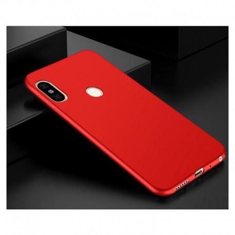 Coque Silicone Xiaomi Redmi Note 5 Extra Fine Rouge