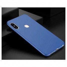 Coque Silicone Xiaomi Redmi Note 5 Extra Fine Bleu