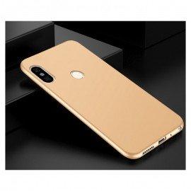 Coque Silicone Xiaomi Redmi Note 5 Extra Fine Doré