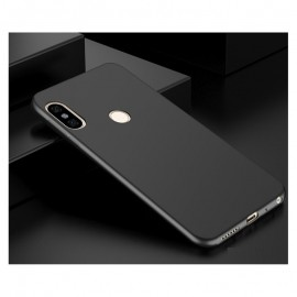 Coque Silicone Xiaomi Redmi Note 5 Extra Fine Negra