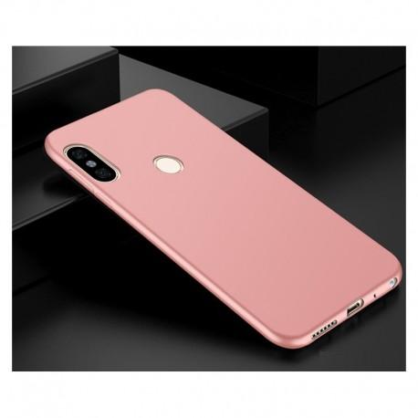 Coque Silicone Xiaomi Redmi Note 5 Extra Fine Rosa
