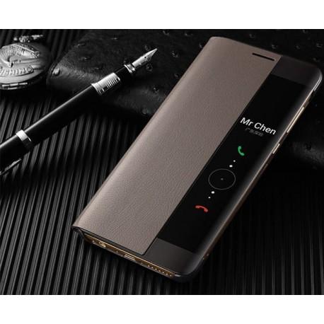 Etuis Huawei Mate 10 Smart Marron