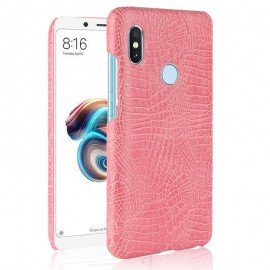 Coque Xiaomi Redmi Note 5 Croco Cuir Rose