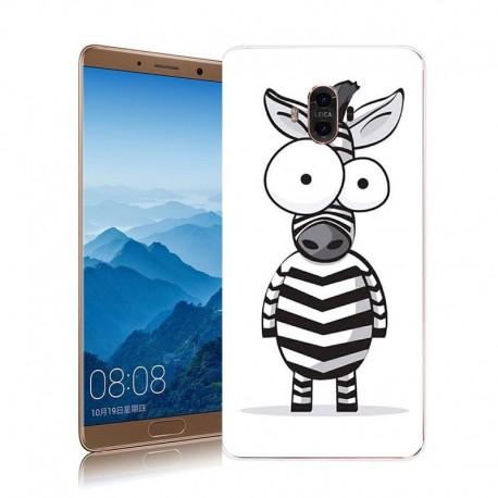 Coque Huawei Mate 10 Silicone Zebre