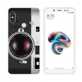 Coque Silicone Xiaomi Redmi Note 5 Camera