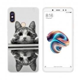 Coque Silicone Xiaomi Redmi Note 5 Chaton