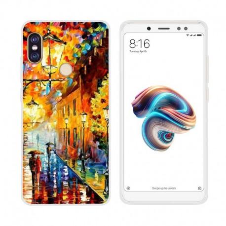 Coque Silicone Xiaomi Redmi Note 5 Tableau