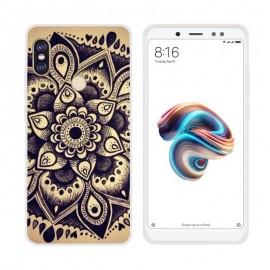 Coque Silicone Xiaomi Redmi Note 5 Fleur