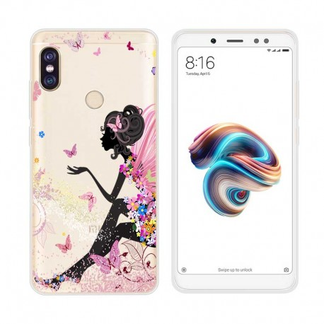 Coque Silicone Xiaomi Redmi Note 5 Fée