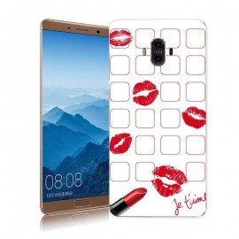 Coque Huawei Mate 10 Silicone Bisous