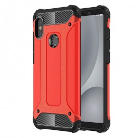 Coque Xiaomi MI 6X Anti Choques Rouge