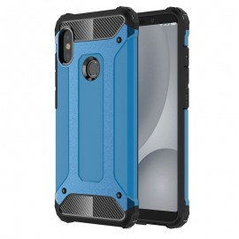 Coque Xiaomi MI 6X Anti Choques Bleu