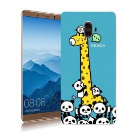 Coque Huawei Mate 10 Silicone Girafe