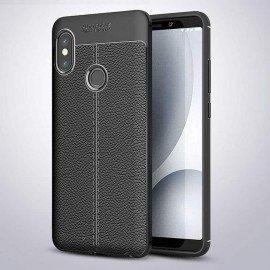 Coque Silicone Xiaomi MI 6X Cuir 3D