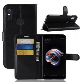 Etuis Portefeuille Xiaomi MI 6X Simili Cuir Noir