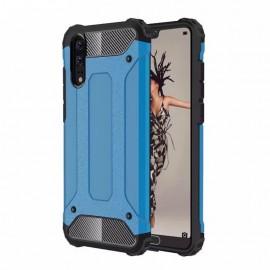 Coque Huawei P20 Anti Choques Bleu