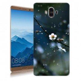 Coque Huawei Mate 10 Silicone Fleur