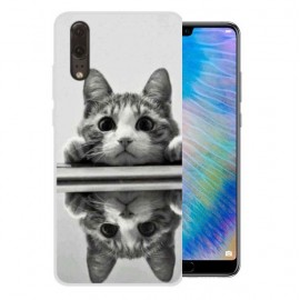 Coque Silicone Huawei P20 Chat