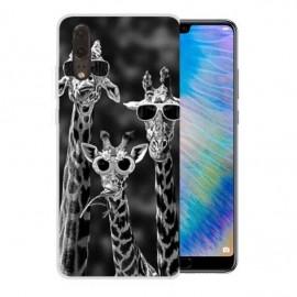 Coque Silicone Huawei P20 Girafes