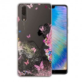 Coque Silicone Huawei P20 Fée