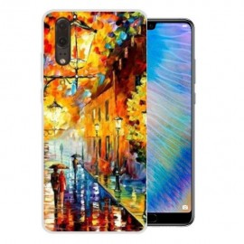 Coque Silicone Huawei P20 Tableau
