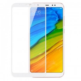 Verre Trempé Xiaomi Redmi Note 5 Pro Protecteur d'écran Blanc