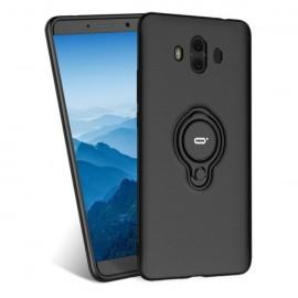 Coque Huawei Mate 10 Hybride Support Anneau Noir