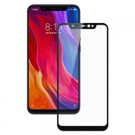 Verre Trempé Xiaomi Mi 8 Protecteur d'écran Noir