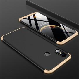 Coque 360 Xiaomi MI 8 Or et Noir