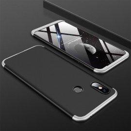 Coque 360 Xiaomi MI 8 Noir et Gris