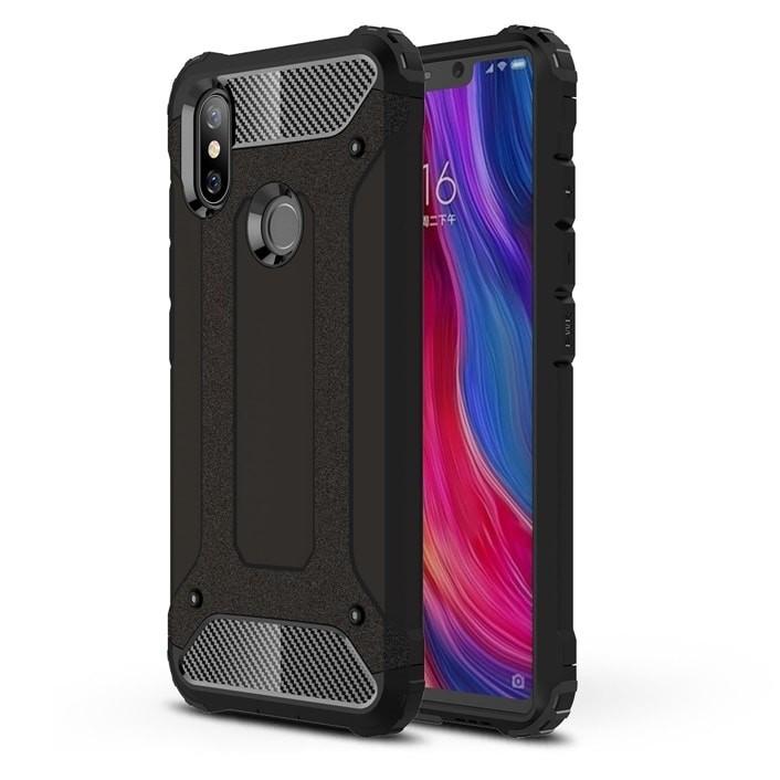 Coque Xiaomi MI 8 Anti Choques Noir
