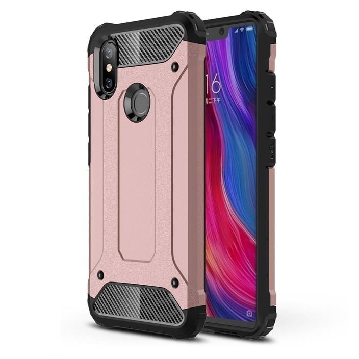 Coque Xiaomi MI 8 Anti Choques Or Rose
