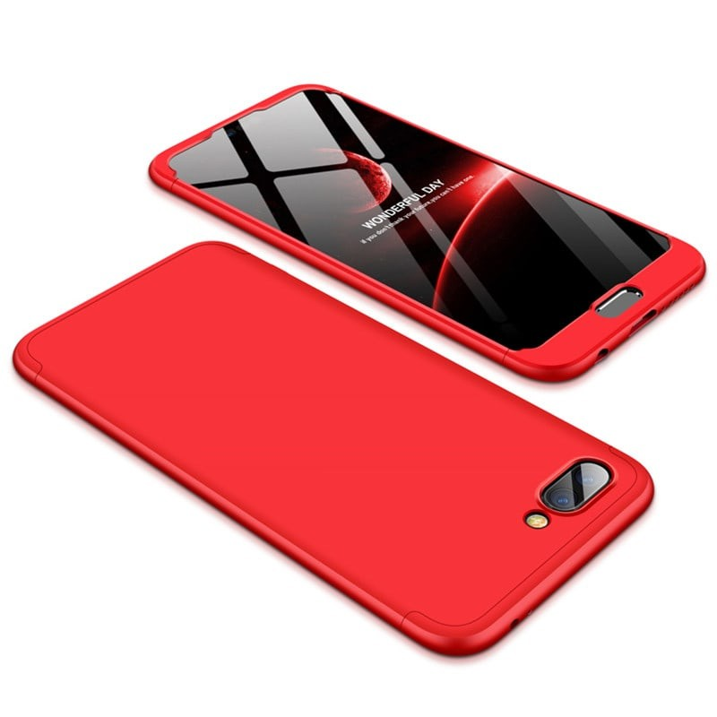Coque 360 Honor 10 Rouge.