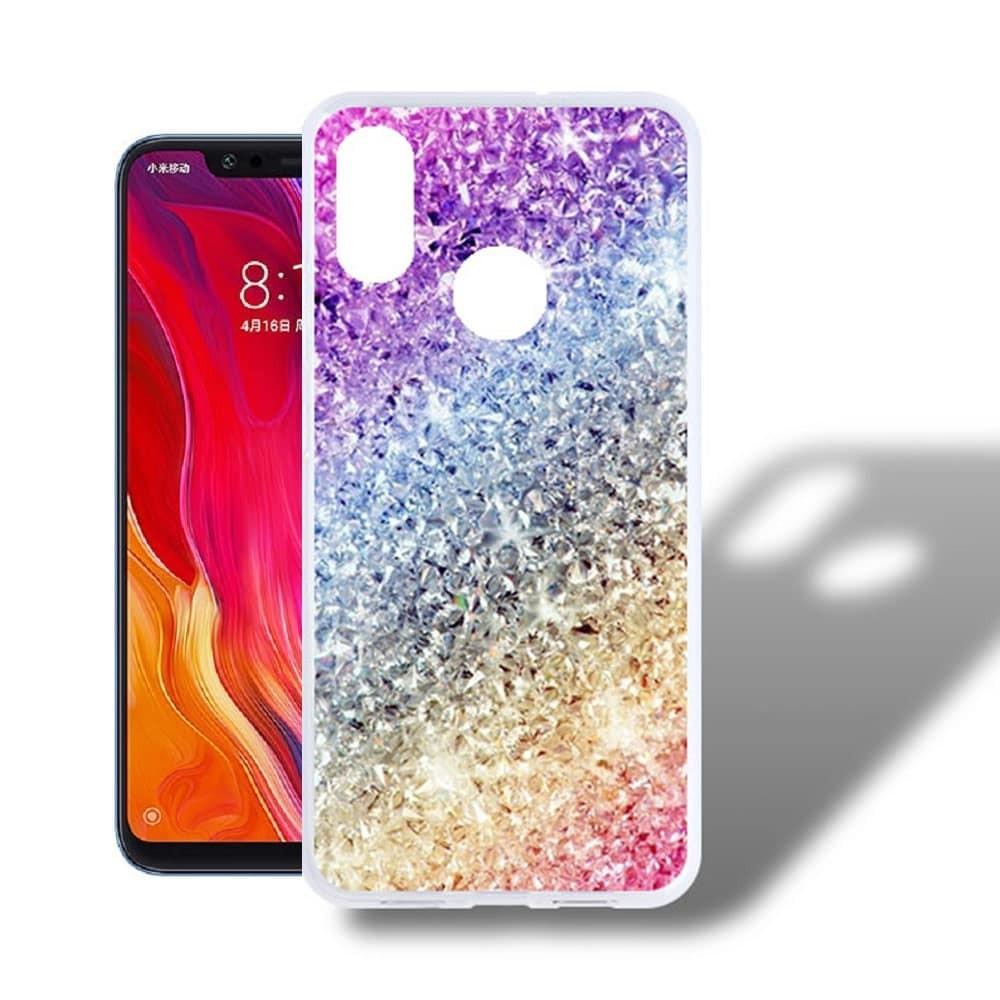 Coque Silicone Xiaomi MI 8  Bling