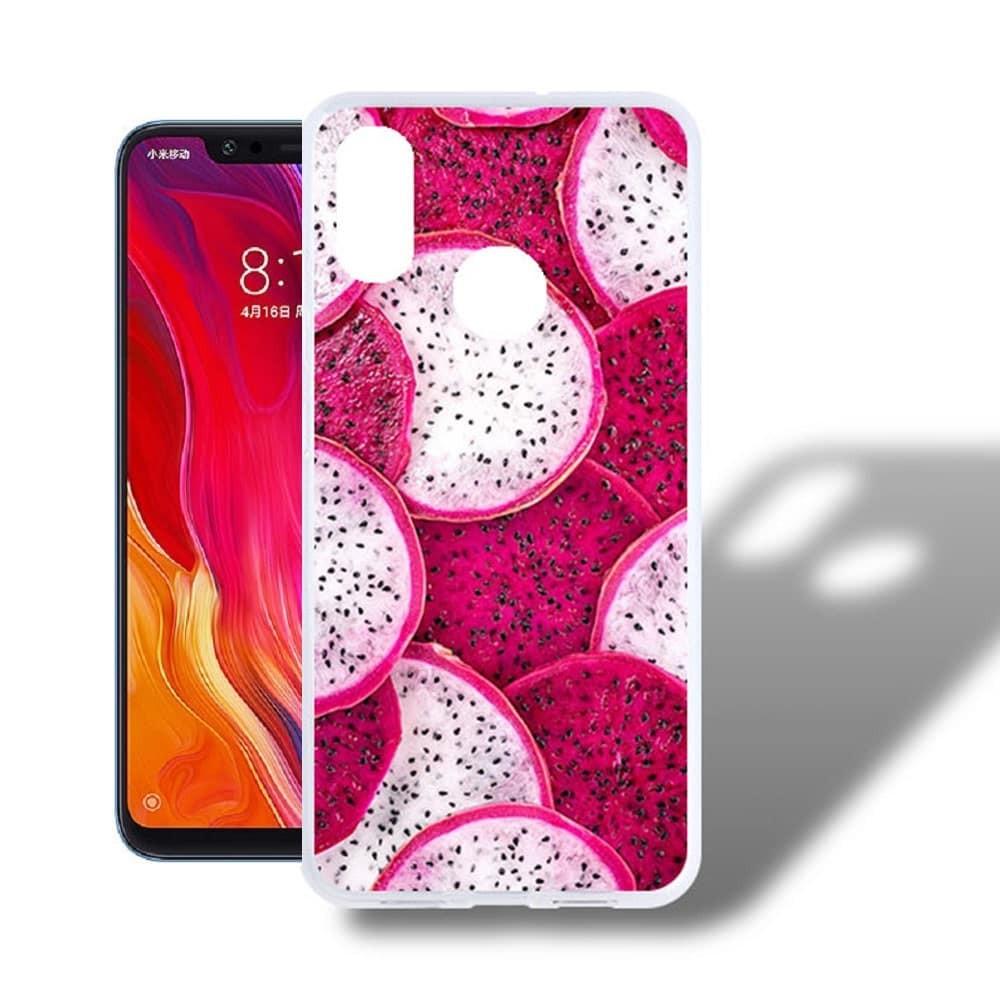 Coque Silicone Xiaomi MI 8  Fruit