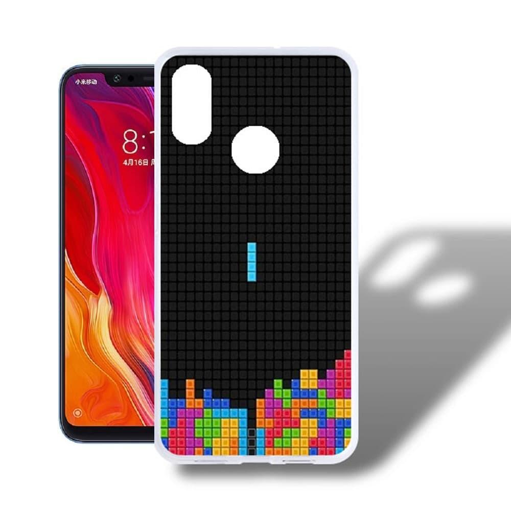 Coque Silicone Xiaomi MI 8  Jeux Video